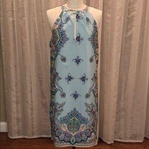Nwt Oasap Printed Halter Dress